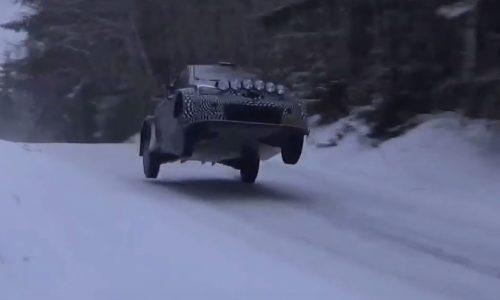 2017 Toyota Yaris WRC prototype looks crazy fast (video)