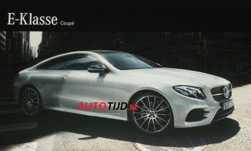 2017 Mercedes-Benz E-Class coupe revealed in brochure scans