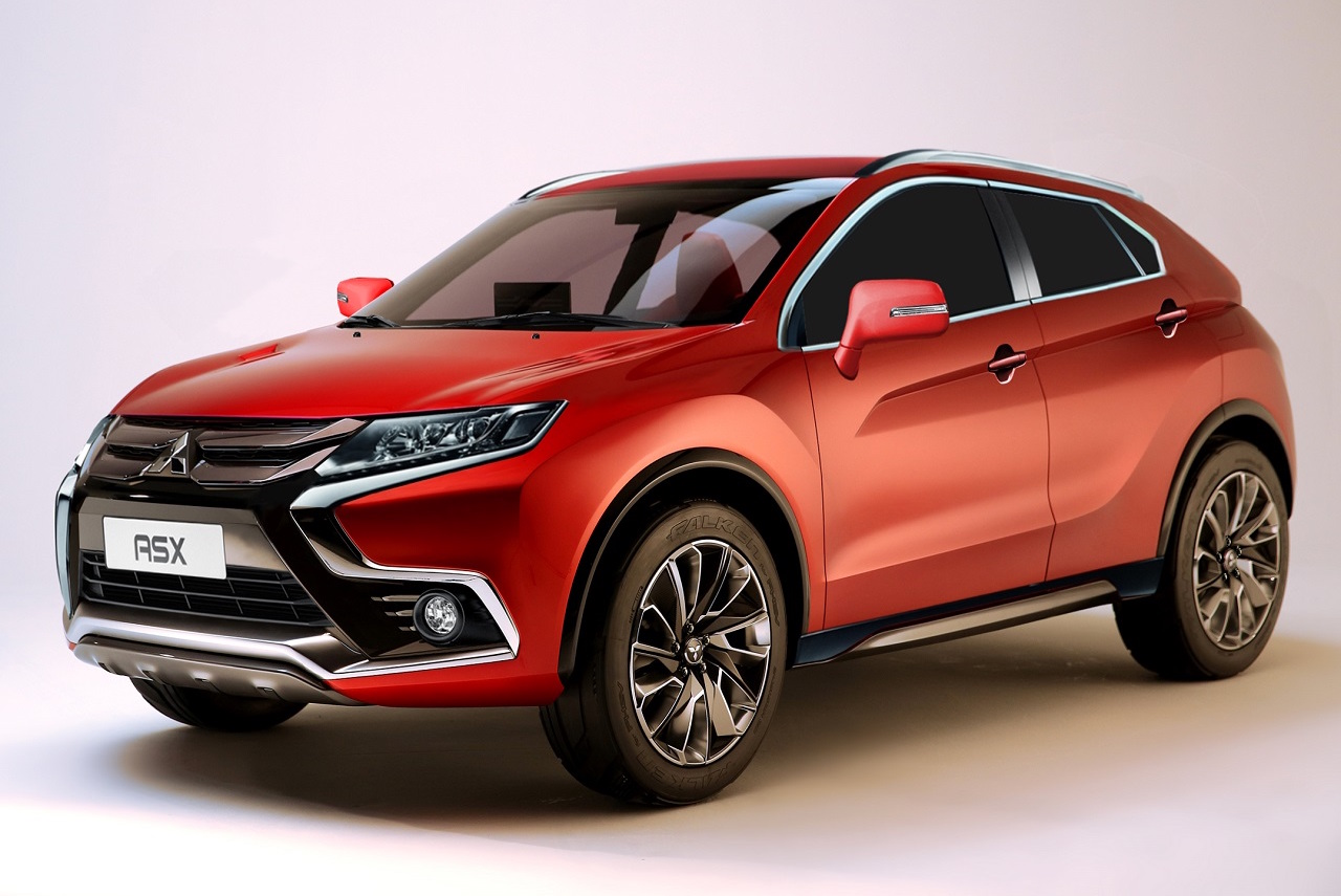 What the 2018 Mitsubishi ASX could look like ...