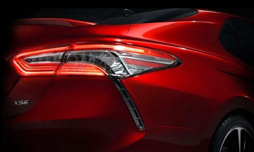 2018 Toyota Camry previewed before Detroit show debut