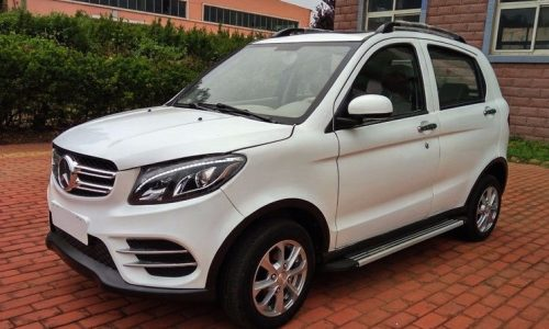 Chinese company makes fake Mercedes electric SUV