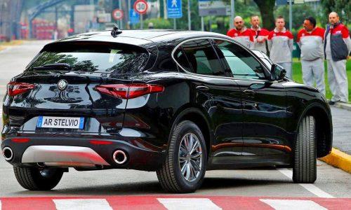 Alfa Romeo Stelvio shows up in base model form again