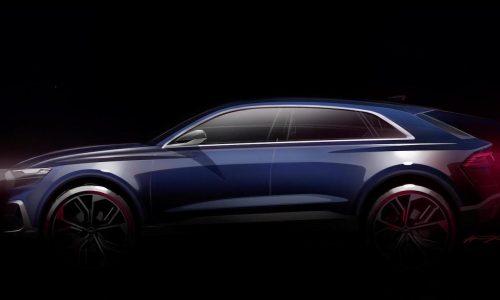 Audi Q8 concept previewed before Detroit show
