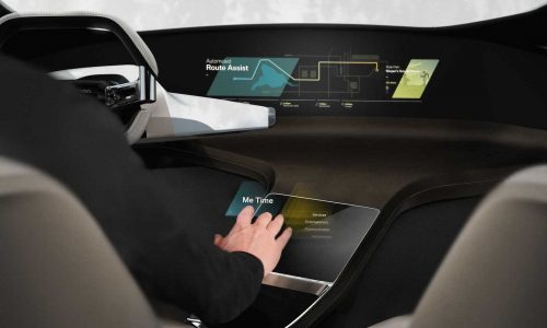 BMW HoloActive Touch previews the interface of the future