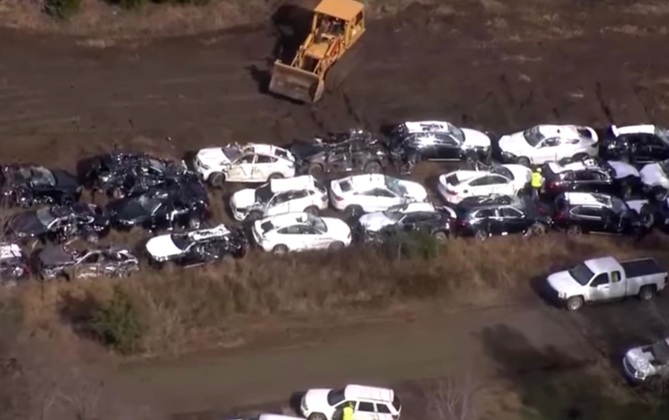 Toyota Of Spartanburg >> Train crash in USA wrecks over 100 new BMWs, direct from ...