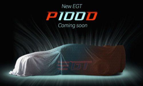 Tesla Model S P100D previewed for Electric GT racing
