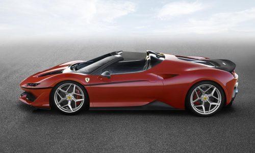 Ferrari J50 special edition celebrates 50 years in Japan