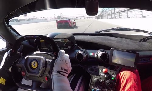 Video: LaFerrari FXX K lapping Daytona is music to your ears