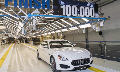 Maserati hits 100,000 production milestone at AGAP plant