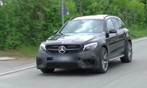 Mercedes-AMG GLC 63 V8 to debut at Geneva show, 375kW likely
