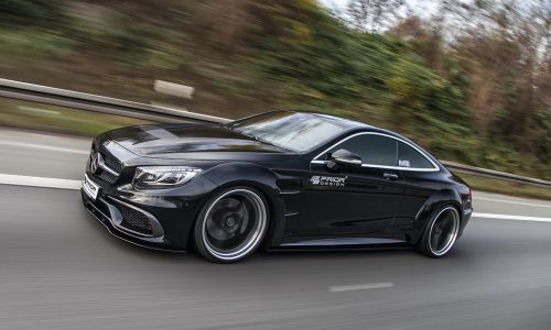 Prior Design reveals fat new kit for Mercedes S-Class coupe