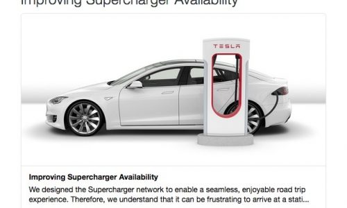 Tesla starts charging users for 'parking' in Supercharger spaces