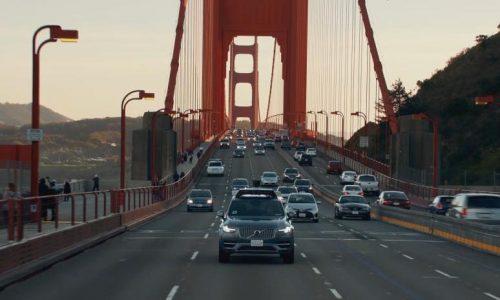 Uber & Volvo start self-driving pilot in San Francisco