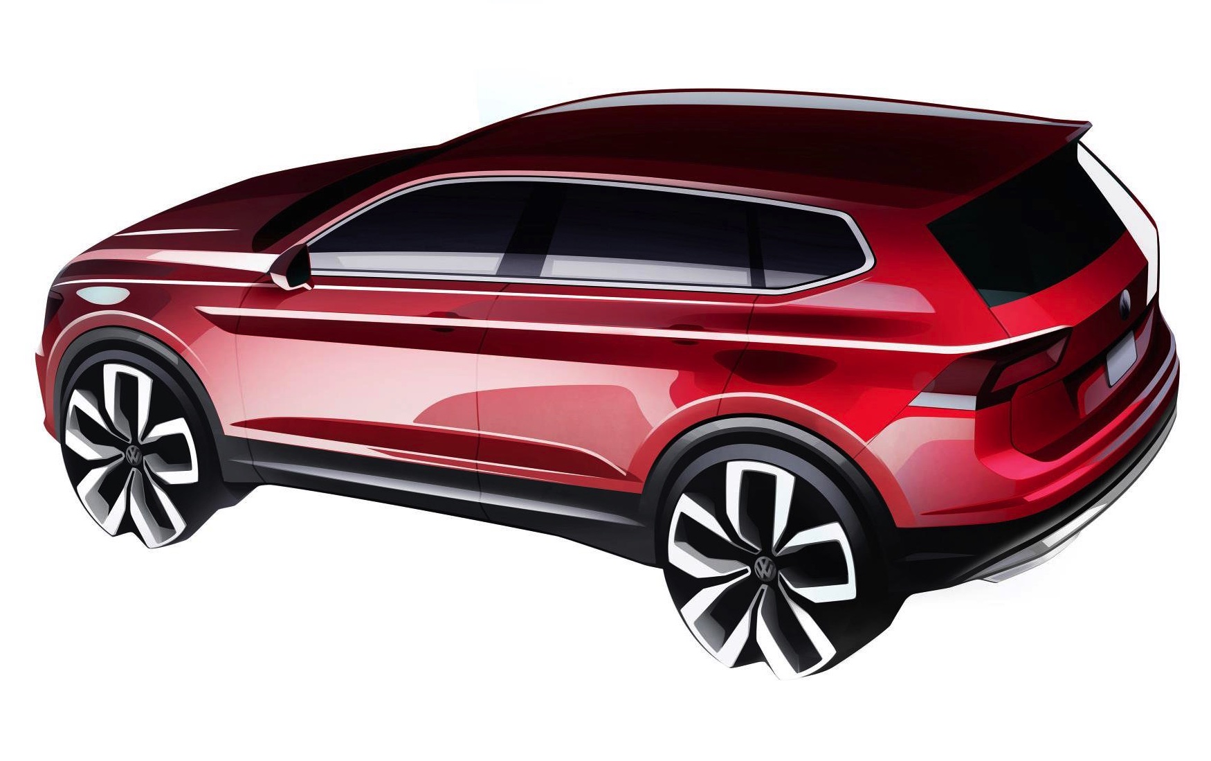volkswagen tiguan allspace 7 seater previewed performancedrive. Black Bedroom Furniture Sets. Home Design Ideas