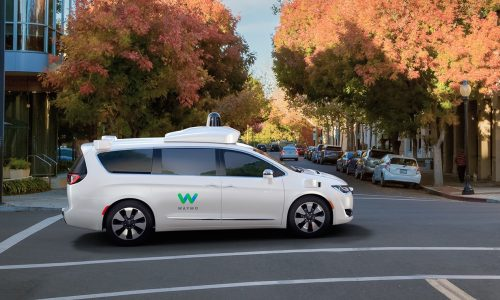 Google reveals fully autonomous Waymo Chrysler Pacifica
