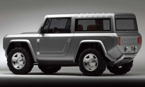 New Ford Bronco could come with live axles, removable roof
