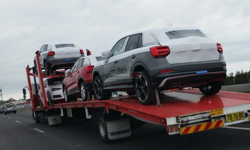 Audi Q2 spotted in Australia ahead official launch