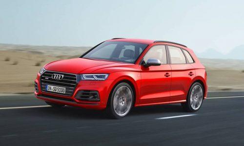 2017 Audi SQ5 revealed; swaps to petrol, slower