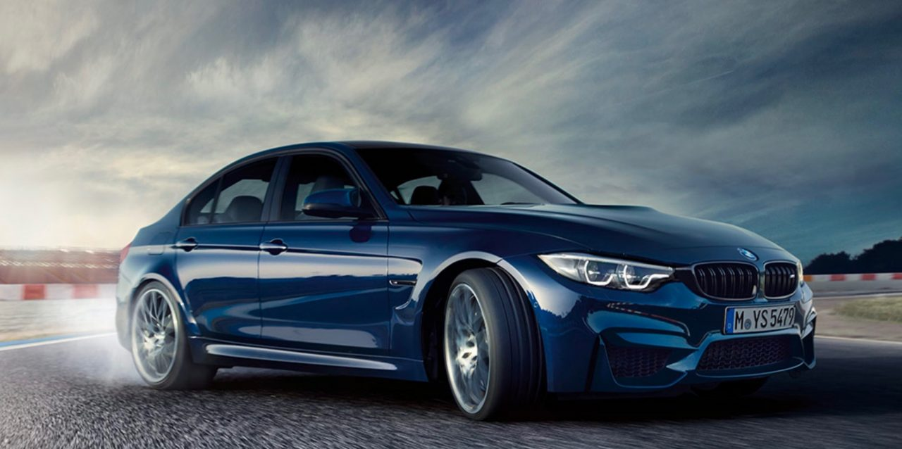 2017 BMW M3 gets LCI update looks nice in dark blue