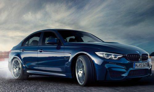 2017 BMW M3 gets LCI update, looks nice in dark blue