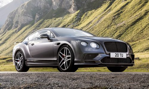 2017 Bentley Continental GT Supersports revealed