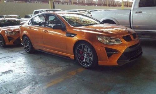 2017 HSV GTS-R W1 spotted? Official debut later tonight