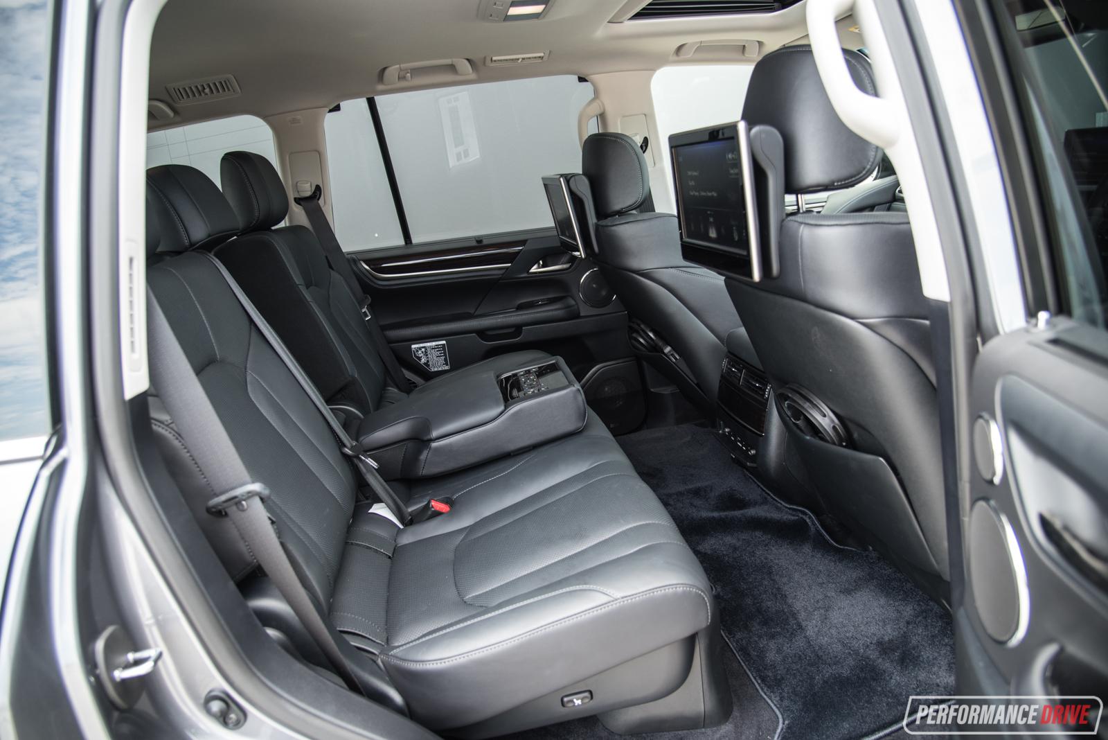 2017 Lexus LX570 Rear Seats