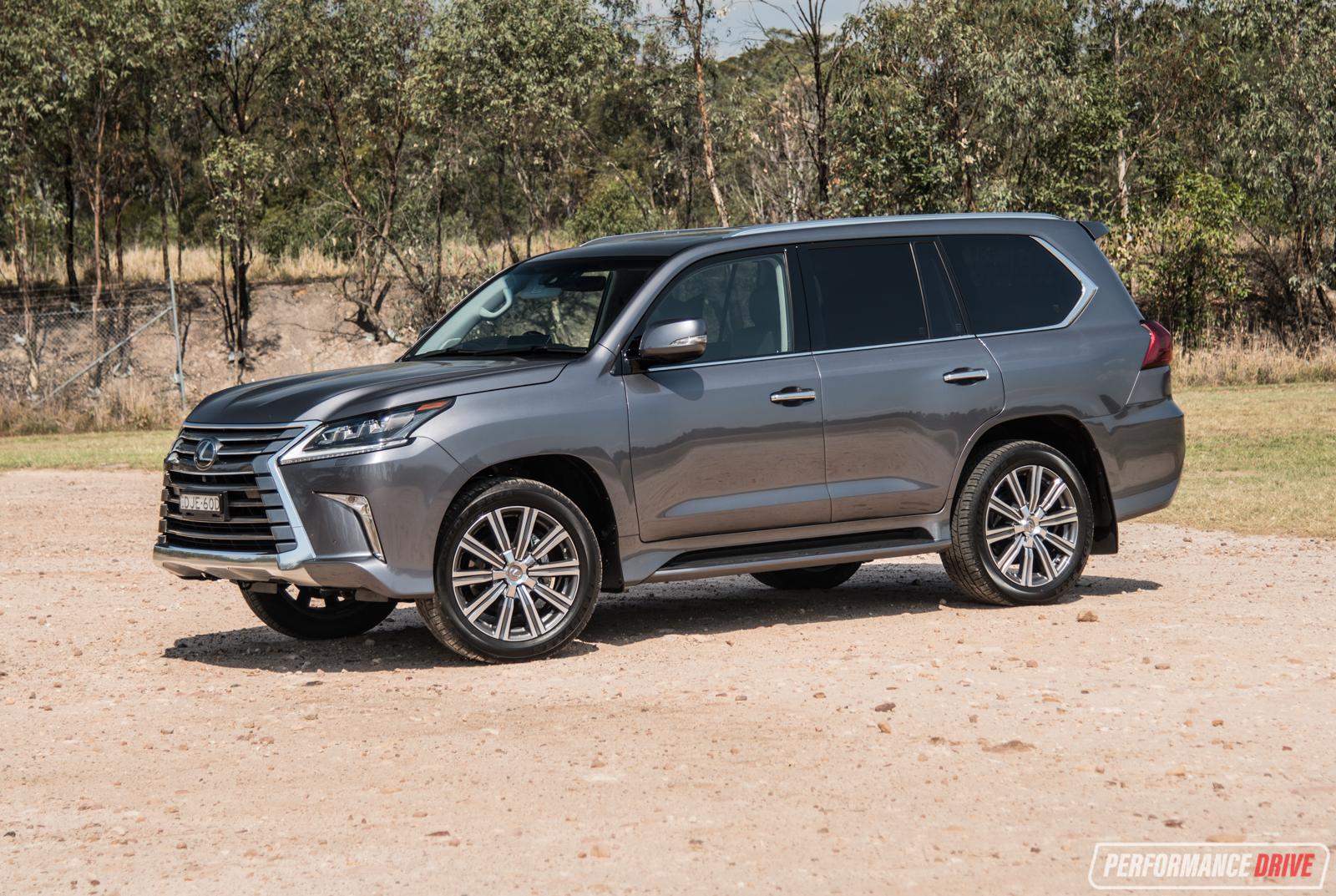 2017 Lexus Lx570 Review Video Performancedrive
