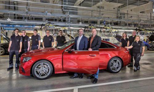 2017 Mercedes-Benz E-Class coupe production commences