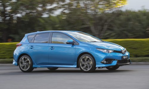 2017 Toyota Corolla hatch on sale from $20,190
