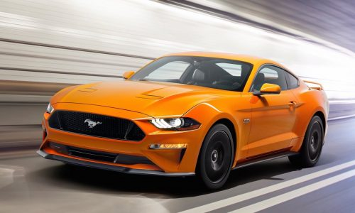 2018 Ford Mustang officially revealed, more power & tech