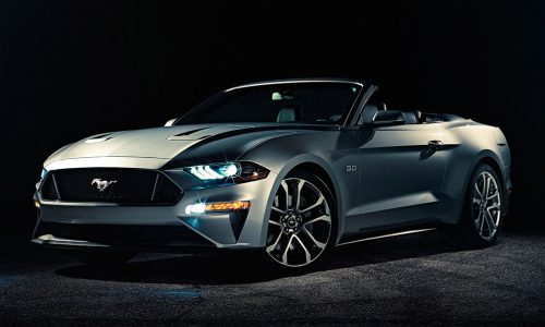 2018 Ford Mustang convertible officially revealed