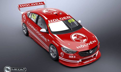 2018 Holden Commodore V8 Supercar (Supercar) rendered