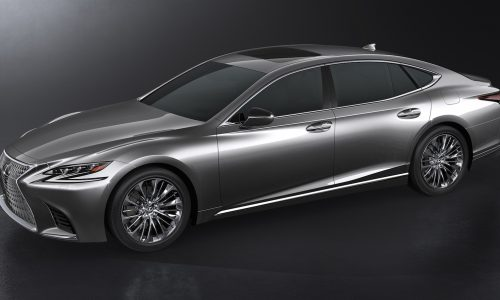 2018 Lexus LS revealed, debuts 3.5TT V6 & 10spd auto