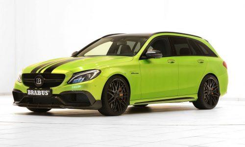 BRABUS presents new tune for Mercedes-AMG C 63 S wagon