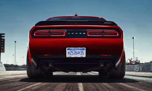 Dodge Challenger SRT Demon gets bespoke Nitto tyres (video)