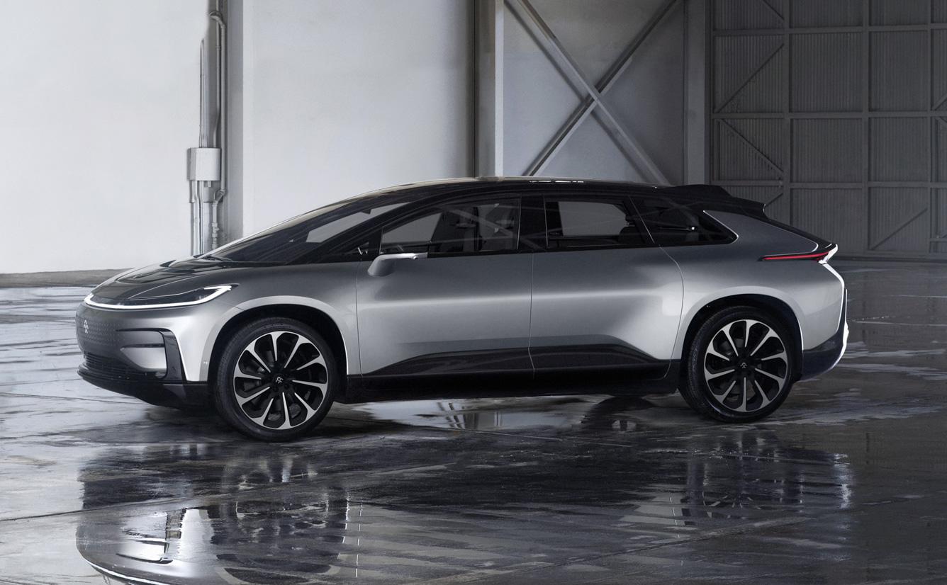 Range Rover Las Vegas >> Faraday Future FF 91 EV revealed, company's first ...