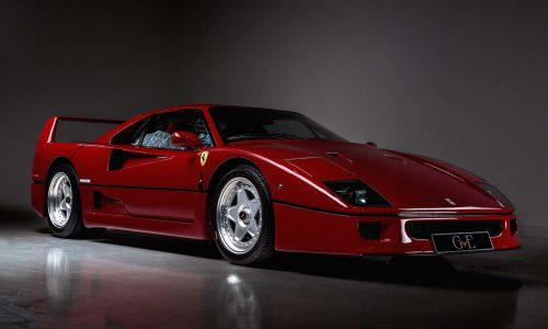 For Sale: 1991 Ferrari F40 owned by Eric Clapton
