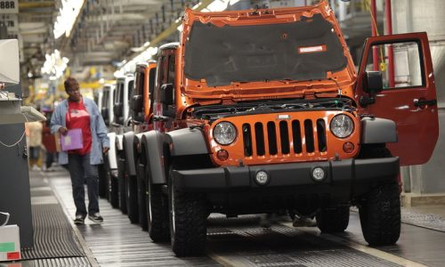 New Jeep Wrangler production to start in November – report