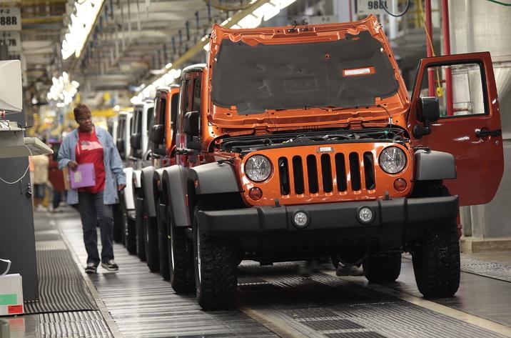 Jeep Wrangler production-Toledo
