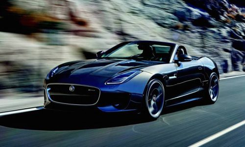 MY2018 Jaguar F-TYPE announced, 400 SPORT V6 added