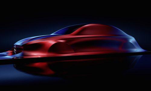 Mercedes Aesthetics A sculpture previews future A-Class sedan
