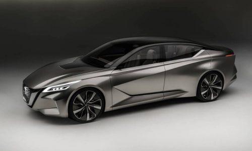 Nissan Vmotion 2.0 concept previews future design direction
