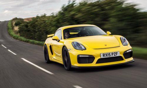 Porsche Cayman GT4 'RS' rumoured, to get 4.0L flat six