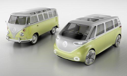 Volkswagen I.D. Buzz concept previews future Kombi