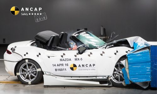 Mazda MX-5 RF continues 5-star ANCAP safety rating