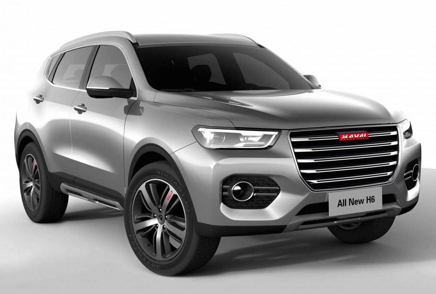 2017 Haval H6 Revealed With New Platform Amp Interior