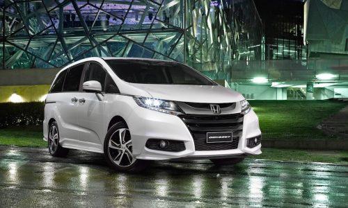MY2017 Honda Jazz & Odyssey updates announced