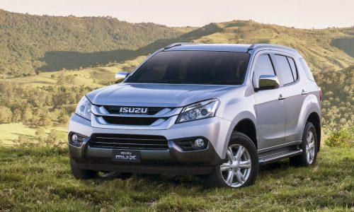 2017 Isuzu MU-X arrives in Australia, gets 6sp, Euro 5 engine