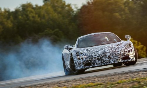 Next McLaren Super Series getting Variable Drift Control